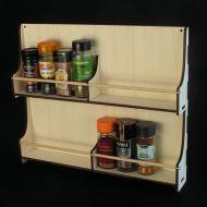Spice Rack 2 x 8 Jars