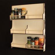 Spice Rack 3 x 8 Jars