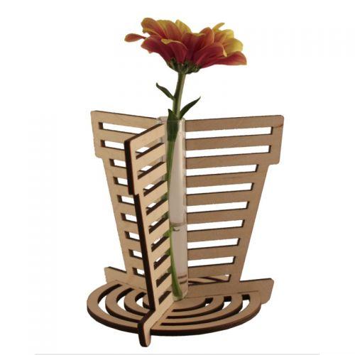 Flowerpot Stem Vase