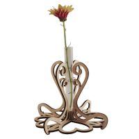 Hearts Stem Vase