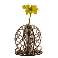 Bubbles Stem Vase
