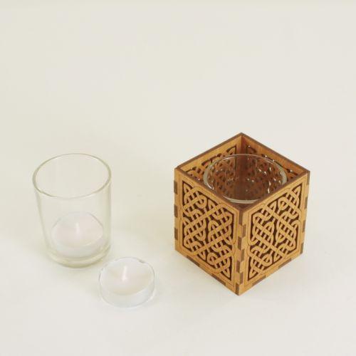 Celtic Knot Tea Light Holder